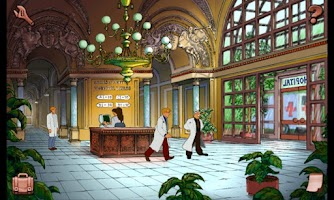 Screenshot of Broken Sword: Italiano