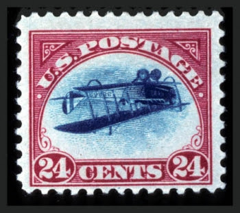 Inverted Jenny, position 14