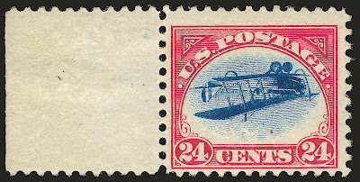 Inverted Jenny, position 21