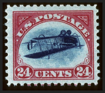 Inverted Jenny, position 47