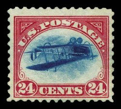 Inverted Jenny, Position 25