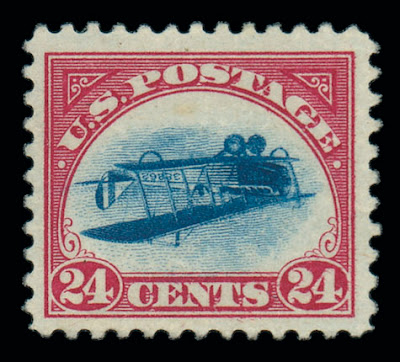 Inverted Jenny, Position 83