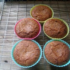 Gluten and Dairy Free Pear Fairy Cakes