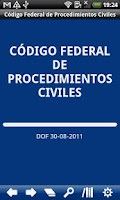 Screenshot of MX Fed. Code Civil Procedure