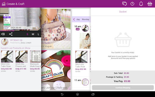 Create & Craft for tablets - screenshot