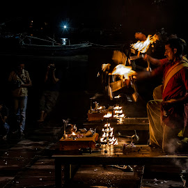 The Ganges Worship by Subhasis Ghosh - News & Events Entertainment ( faith, kolkata, ganges, india, spirituality, devotion, worship, culture, custom )