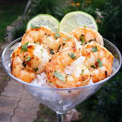 Margarita Grilled Shrimp