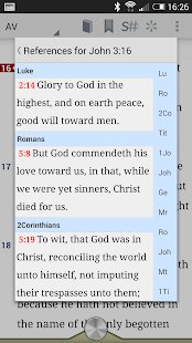 Online Bible - screenshot