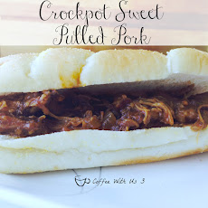Crockpot Sweet Pulled Pork