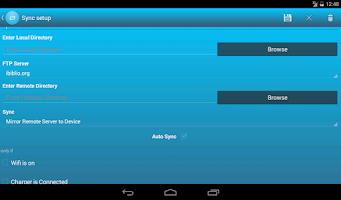 Screenshot of FSync - FTP Client