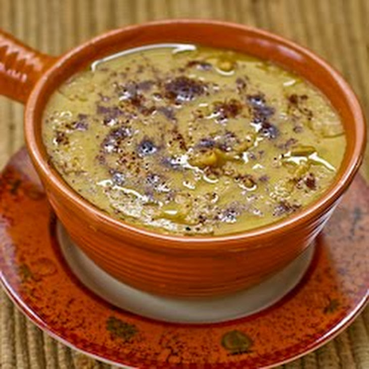 ... ) Soup With Garlic, Sumac, Olive Oil, And Lemon Recipe — Dishmaps