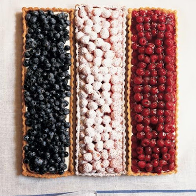 Flag Berry Tarts