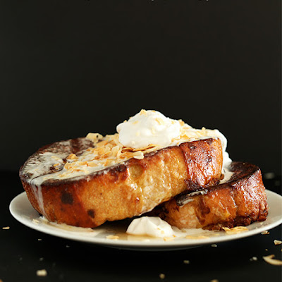Coconut Cream Pie French Toast