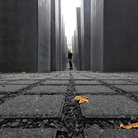 Holocaust memorial by Gloria Staffa - Buildings & Architecture Statues & Monuments ( woman, berlino holocaust )
