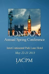 IACPM 2013 Annual Conference - screenshot