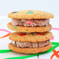Smarties Ice Cream Sandwich