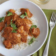 Vindaloo-Spiced Chicken Thighs with Coconut-Tomato Stew