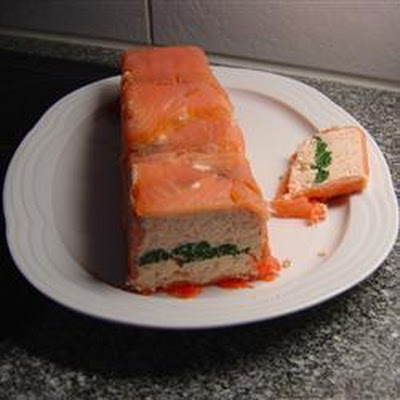 Prawn And Salmon Terrine