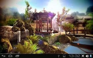 Screenshot of Oriental Garden 3D Pro