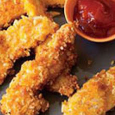 Crunchy Parmesan Chicken Strips
