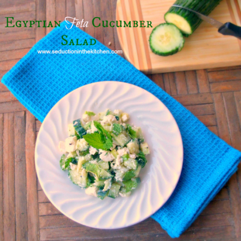 Joanne Weir's Cucumber And Feta Salad Recipes — Dishmaps