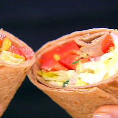 Simply Orange® Chorizo and Scrambled Egg Wraps