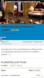 Hotel Finder-California Deals - screenshot