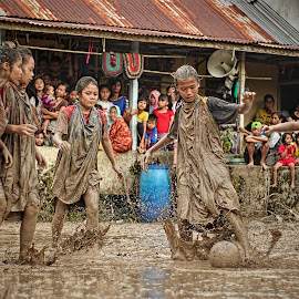 mud soccer by Yudha Aja - Sports & Fitness Soccer/Association football