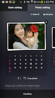 Screenshot of dodol Calendar Widget