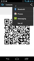 Screenshot of QR Code Generator