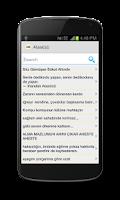 Screenshot of Kişiye Özel Toplu SMS