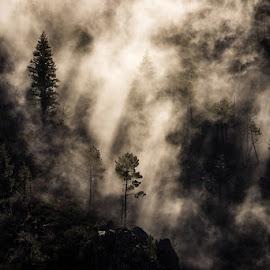 Light Sections by Francisco Machado - Landscapes Mountains & Hills ( fotonature, workshop fotografia de natureza, serra da estrela )