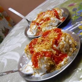 Occational Indian Meal-Dahi Bada by Arnab Banerjee - Food & Drink Plated Food