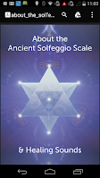 Screenshot of 741 Hz Solfeggio Meditation
