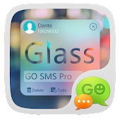 Free GO SMS Pro Z Glass Theme EX APK for Windows 8