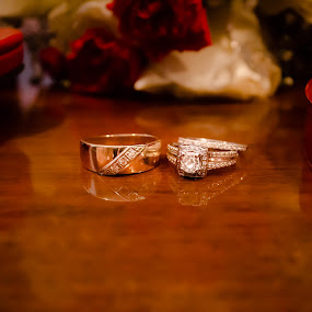 The Rings by Jess Anderson - Wedding Details ( details, wedding, rings, marriage, engagement rings )