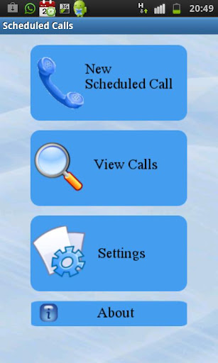 Scheduled calls free