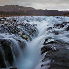 Water Crack by Jim Harmer - Landscapes Waterscapes ( iceland, travel group, landscape )
