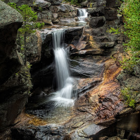 Screw Auger Falls, Grafton Notch State Park, Maine by Martin Belan - Landscapes Waterscapes ( grafton notch state park waterfalls, maine, waterfall, screw auger falls, maine waterfalls, new england waterfalls, landscape,  )