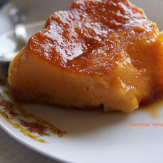 Maria's Orange and Almond Pudding