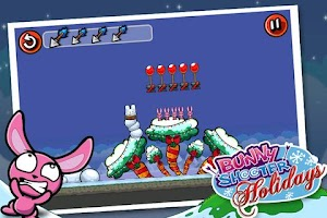 Screenshot of Bunny Shooter Christmas
