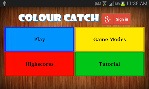 Colour Catch - screenshot