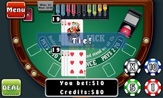 Screenshot of Blackjack Fever