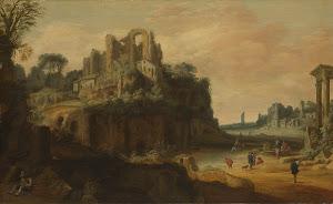 RIJKS: Pieter Anthonisz Groenewegen: painting 1657