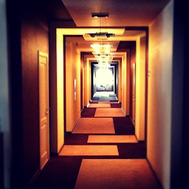 The geometry of the corridor by Vadim Malinovskiy - Instagram & Mobile iPhone
