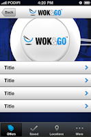 Screenshot of Wok & Go