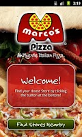 Screenshot of Marco's Pizza