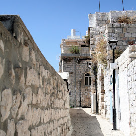 Walkway by John Cardillo - Buildings & Architecture Other Exteriors ( old house, home, sunny, stone, walkway )