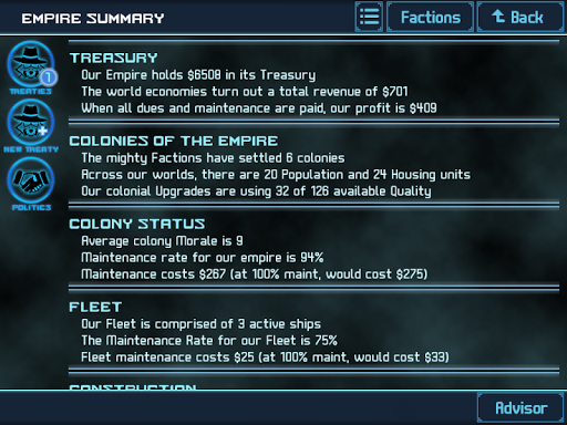 Star Trers 4X Empires Elite - screenshot