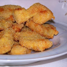Baked Cheesy Chicken Nuggets (No Bread Coating)